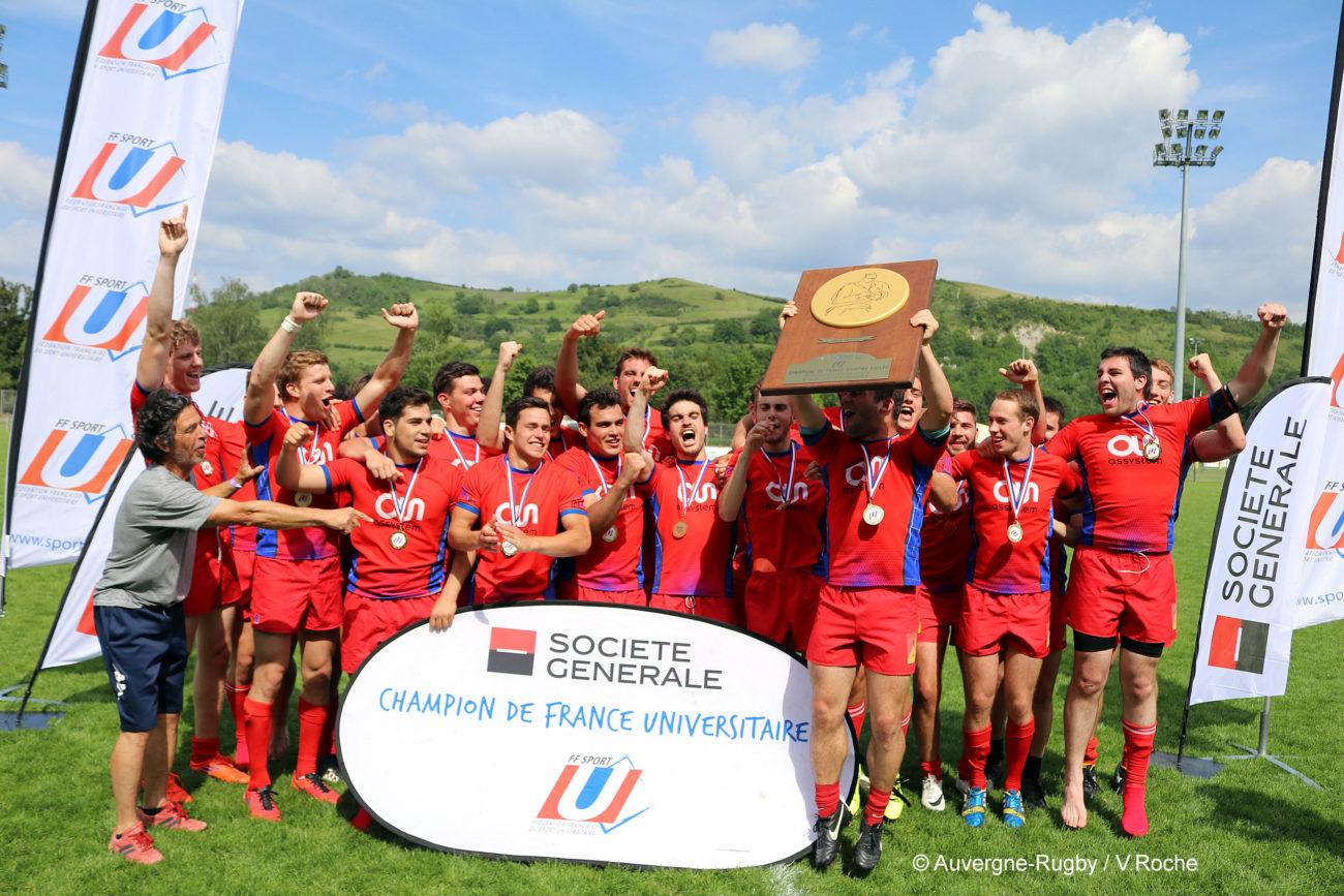 Sport U Com Rugby Six Boucliers Remis A Issoire